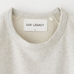 OUR LEGACY || LOOM SWEAT