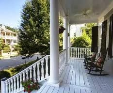 love the charleston porch
