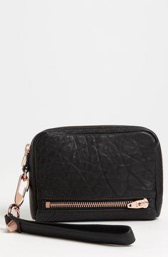 New Alexander Wang Fumo Wristlet fashion online. [$225]?@shop.seehandbags<<