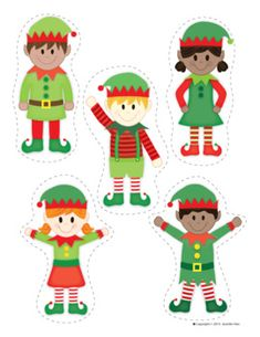 Elf Activities | Elf Interactive Counting Book and Finger