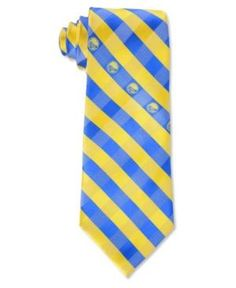 Eagles Wings Golden State Warriors Checked Tie - Team color