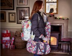 Travel in style with Cath Kidston luggage |