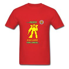 The Transformers Robot Red Adult Standard Weight T-shirt For Men Printing-Funny Clothing with 100% pre-cotton shirts with expert online help. Print your own shirt with custom text, designs or photos.