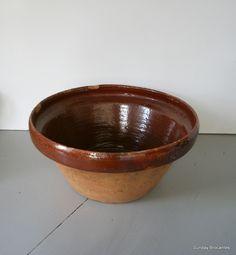 Antique French Farm Bowl