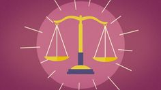 Law and courts. Animation for Observador.