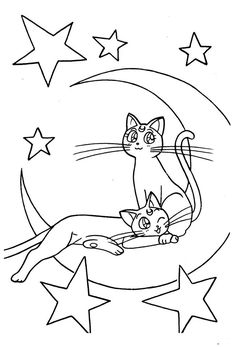 Sailor Moon Coloring Pages, Coloring Pages For Girls, Cute Coloring Pages, Coloring Sheets, Coloring Books, Sailor Moon Birthday, Sailor Moon Party, Sailor Moon Manga, Sailor Moon Background