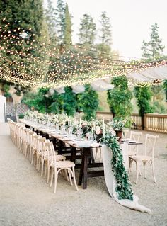 One of the most magical reception spaces we've seen in a long time! Design by: Cindy Salgado