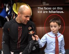 Joey the junior reporter. Love the face!