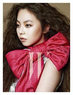 Wonder Girls' Sohee puts on her poker face for 'W Korea'