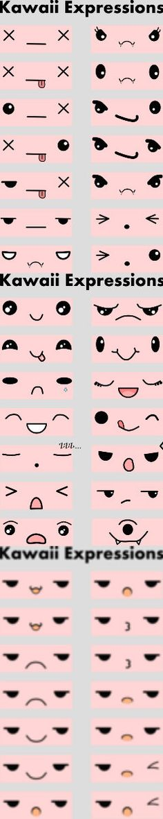 Kawaii expression Part 1