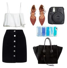 """""""Untitled #71"""" by oxygwenn ❤ liked on Polyvore featuring Miss Selfridge, CÉLINE and Kate Spade"""