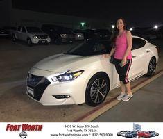 Congratulations Mandi on your #Nissan #Maxima from Jesus De Los Rios at Fort Worth Nissan! https://deliverymaxx.com/DealerReviews.aspx?DealerCode=WWBX #FortWorthNissan