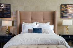 Impressive nicole miller bedding in Bedroom Contemporary with next to Horn Lamp alongside and Vine Wallpaper Contemporary Bedroom, Bedrooms, Bedroom Decor, Interiors, Elegant, Wallpaper, Furniture, Home Decor, Classy