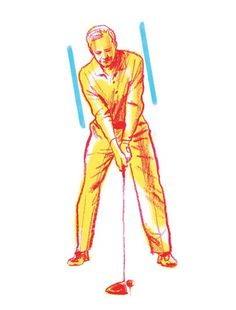 1.) AT ADDRESS PLAY THE BALL BACK, AND TILT YOUR BODY TO THE RIGHT Less flexible players usually need more distance, so they should learn to hit a draw. To accomplish that, they should move the ball back a couple of inches and drop the right foot away from the target line, creating a closed stance. This will facilitate body turn on the backswing and set up an inside approach into impact. A little more spine tilt away from the target will also help the windup.
