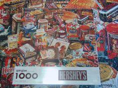 1998 Springbok/Hallmark - HERSHEY'S - 1000 Pc Puzzle Complete #SpringbokHallmark