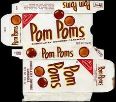 My sister was jr mints, I was always a PomPoms girl! Retro Candy, Vintage Candy, Vintage Food, Vintage Stuff, Retro Food, Retro Recipes, Vintage Recipes, Sweet Memories, Childhood Memories