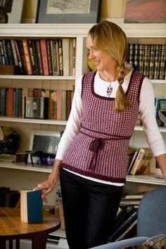 Ravelry: Bryant's Slipover pattern by Jennifer Lang