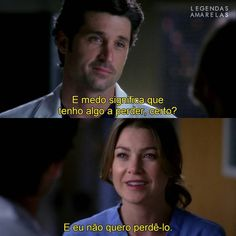 Meredith E Derek, Greys Anatomy Frases, Brothers Conflict, Patrick Dempsey, Tv Shows, Poetry, Teen, Gray, Feelings