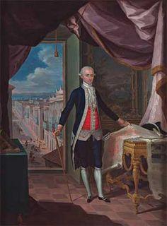 RETRATO DEL GOBERNADOR DON MIGUEL ANTONIO DE USTÁRIZ, JOSÉ CAMPECHE, 1792, ÓLEO SOBRE TABLA, COLECCIÓN INSTITUTO DE CULTURA PUERTORRIQUEÑA.