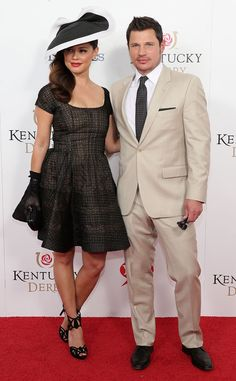 Cute couple alert! The Lachey's hit the Kentucky Derby!