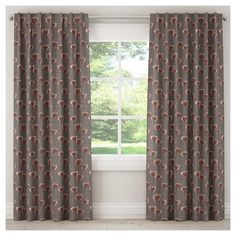 """Blackout Poppy Curtain Panel Taupe Brown (50""""x108"""")"""