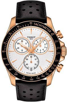 @tissot Watch V8 #add-content #basel-16 #bezel-fixed #bracelet-strap-leather…