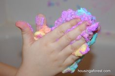 Fluffy Bathtub Paint - Pinned by @PediaStaff – Please Visit  ht.ly/63sNt for all our pediatric therapy pins