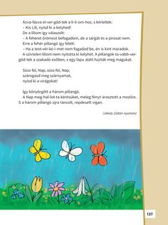 ▶ A három pillangó - NKP Poems, Poetry, Verses, Poem