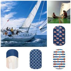 Jamberry Nails - Nautical Adventures www.jocosjamz.jamberrynails.net visit my site to order your nails or host a party!