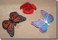 Lace Sculpture - Butterflies These Butterflies have an 8 inch wingspan. They are designed to use hot fix crystal accents, though crystals are optional. Some Image, Metallic Thread, Machine Embroidery Designs, Color Inspiration, House Plants, Free Design, Butterflies, Display, Sculpture