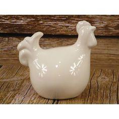 Kurka ceramiczna to okazała dekoracja na stoły meble lub do ogrodu. Z zewnątrz szkliwiona ceramika nadaje połyskliwą poświatę w celu podniesienia wartości estetycznej. Kurka wykonana jest z ceramiki i może być wykorzystane również jako artykuł dekoracyjny do kompozycji wiosennych lub wielkanocnych.