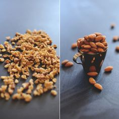 Walnuts and Almonds | minimalistbaker #minimalistbaker