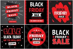 30 Black Friday Banner by Tosca Digital on @creativemarket #blackfriday #blackfriday2017 #banner #template #shopping
