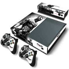 Arkham Knight Black & White Skin - Xbox One Protector