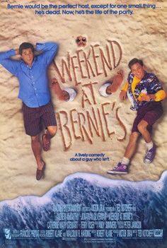 Weekend at Bernie's Movie Poster ( of