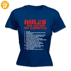 Fonfella Slogans Damen T-Shirt, Slogan Blau Navy Größe L - Shirts mit spruch (*Partner-Link)