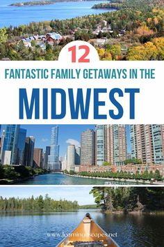 Get inspired with this selection of getaways in the Midwest perfect for a family vacation!