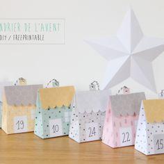Calendrier de l'Avent Petites maisons