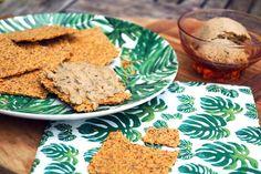 paleo crackers met kruiden
