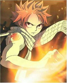 Anime/manga: Fairy Tail Character: Natsu