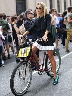 New York Fashion Week Spring 2015 Street Style Snaps