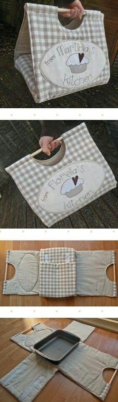 Una idea carina x il trasporto di torte