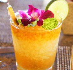 Halekulani's Mai Tai Recipe 1/3 oz Orgeat Syrup 1/3 oz Orange Curacoa  1/3 oz Bacardi Gold Rum 1/2 oz Bacardi 151 Rum 1 1/4 oz Fresh Lime Juice 3/4 oz Bacardi Select (float)