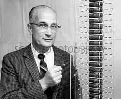 """William Shockley (Feb 13, 1910 – Aug 12, 1989) was an Anglo-American physicist and inventor. Shockley was manager of a research group that included John Bardeen and Walter Brattain-inventors of the point-contact transistor. Shockley's attempts to commercialize a new transistor design led to California's """"Silicon Valley"""" becoming a hotbed of innovation. In his later life, Shockley was a professor of electrical engineering at Stanford University, and a proponent of eugenics."""