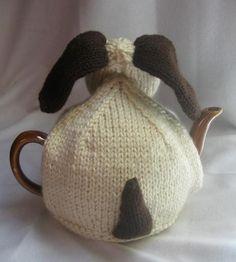 Knitting: Dog Tea Cosy