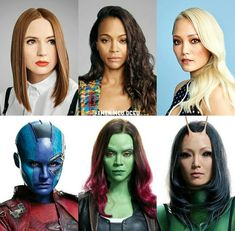 #Marvel women of the guardians of the galaxy