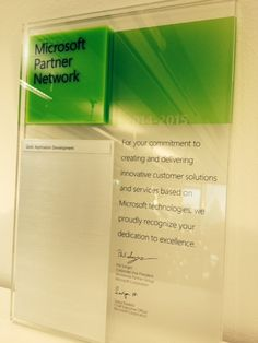 MPS Prewisen Microsoftin Gold- (Application Development) kumppanuus uusittu 2014-2015! Application Development, Innovation, Train, Personalized Items, Gold, Strollers, Yellow