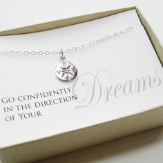OFF SALE - Compass Necklace, Sterling Silver - Graduation Gift, Graduate Gift, Class of Graduation necklace Graduation Presents, Graduation Gifts, Graduation Ideas, Compass Necklace, Rose Necklace, Graduation Necklace, Things To Buy, Stuff To Buy, Gift List