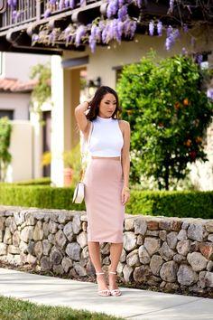 How to Dress Romantic this Spring with Jessica Ricks glamradar.com