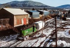 RailPictures.Net Photo: GMRC 1849 Green Mountain Railroad EMD GP9 at Rutland, Vermont by Doug Lilly